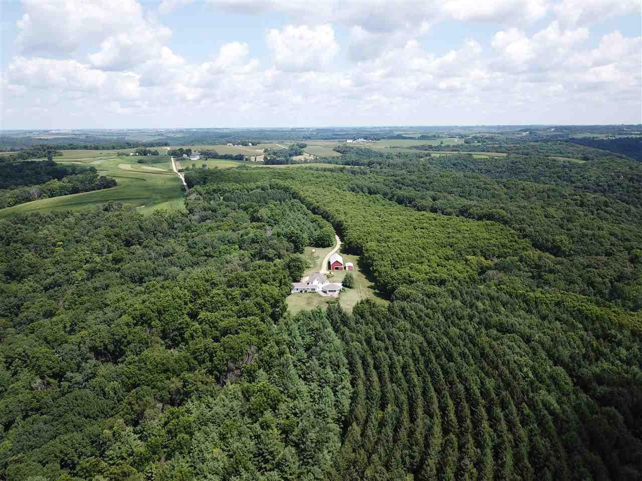 RARE TREE FARM! Welcome to this stunning 177 acres of mature pines, hardwoods & walnut plantations. Here?s your chance to own a private forest managed for timber production.  The majority of the acreage covers a ridge with valleys on both sides and is located on a dead end road w/ access from a long private driveway.  Drive up to a well-maintained 3500sqft homestead, which can be used as a year round residence, corporate retreat or family getaway.  Large outbuilding for storage & smaller shed for a hunting cabin or shop.  Nearby public airstrip & excellent fishing on the Mississippi River.