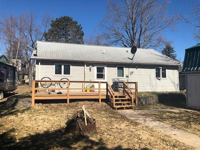 2 bedroom, 1 bath house along with a garage that has a 864 square foot apartment above it. Great space to use as a guest house, or to rent out for some extra income! Garage below is heated, with 2 stalls, and extra space for storage. Property also has a wood fired sauna.
