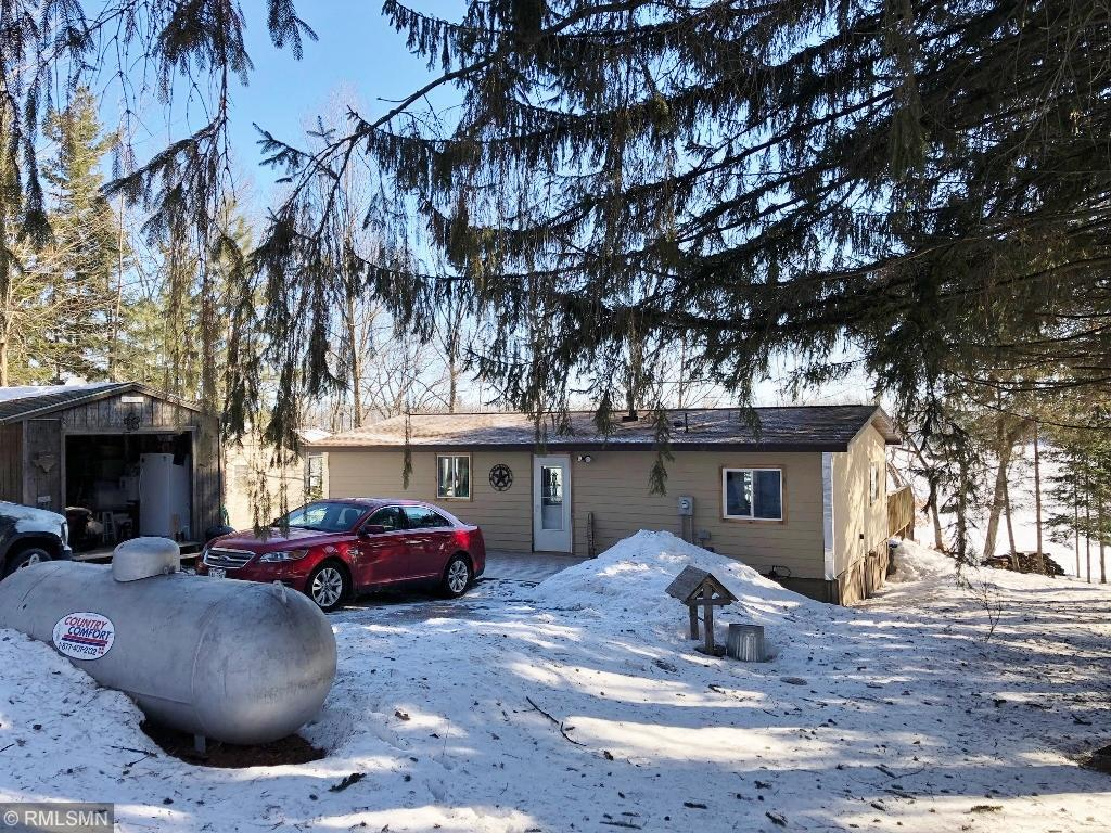Great year around three bedroom, 1 bath cabin on 438 acre Upper Turtle Lake that has been completed re-done including new windows, doors, flooring, roof, appliances and numerous updates throughout. Large lakeside deck for entertaining. Easy drive from the Twin Cities. MOTIVATED seller due to health issues.