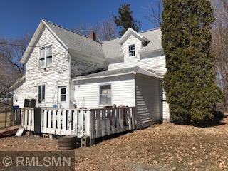"""This 4 bd 1 ba country home/farm on 6.75 acres 7 miles N of St Croix Falls, WI will be on Auction Sat., June 15th, 2019. House needs work but outbuildings in pretty good shape. Open House dates to show home only are: Sat., June 1st & Sunday, June 2nd 10 am - 12 pm. Sunday, June 9th 10am-12pm. Wed., June 12th 5pm-7pm. Terms of Auction: Cash offer day of Auction, 10% down earnest money, property sold """"AS IS"""" condition."""