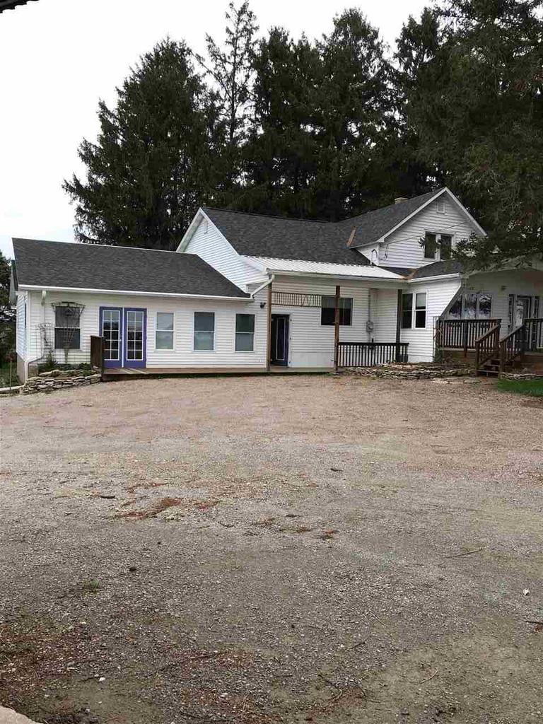 With 6 acres of pasture, 5 acres of tillable, many outbuildings and a nice 4 BR, 1.5 BA home, this hobby farm is ready for you to make your own! Outbuildings consist of a 2 story horse barn 36'x48' with 12'x18' lean. 2 story, 40'x40' shop building with LP heat, providing a lower level for working on vehicles and an upper level wood working area. 2 story 16'x56' shop building for storage.