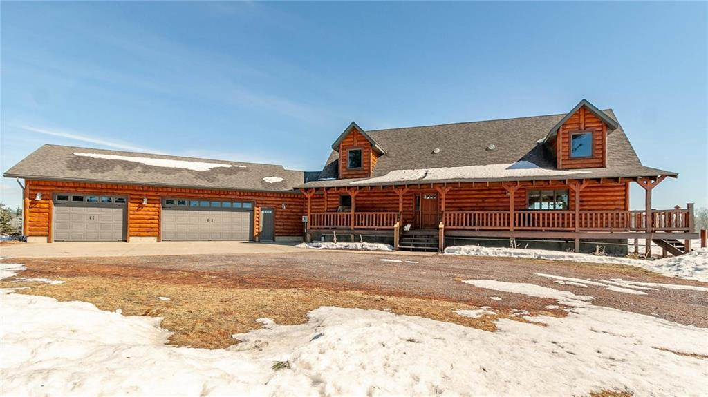 Clark County Wisconsin Log Homes for Sale
