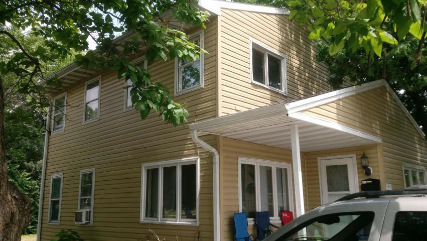 Price Reduced!!  Looking for cash offer.  Inspections are for informational purposes only.  3 bedroom, 1.5 bath, corner home in West Racine location, near to schools, shopping malls and public transit. Open plan first floor, large master bedroom on upper floor. Large lot at rear for fun or you can build a garage.