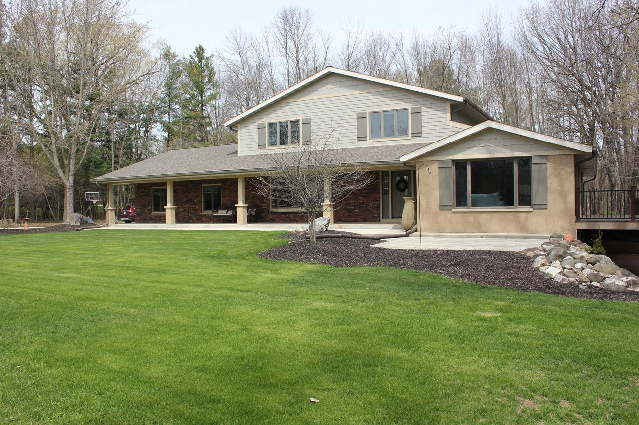 Sheboygan County WI Riverfront Homes for Sale - River Frontage Houses