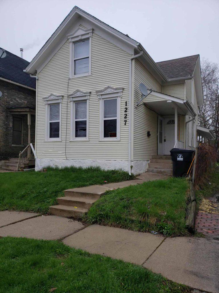Large 5 bedroom house just a couple blocks from Lake Michigan currently rented for $975/month on a month to month lease. Tenant would be willing to continue renting if a new investor is purchasing this property.  This home was extensively updated about 15 years ago and is still in good condition.