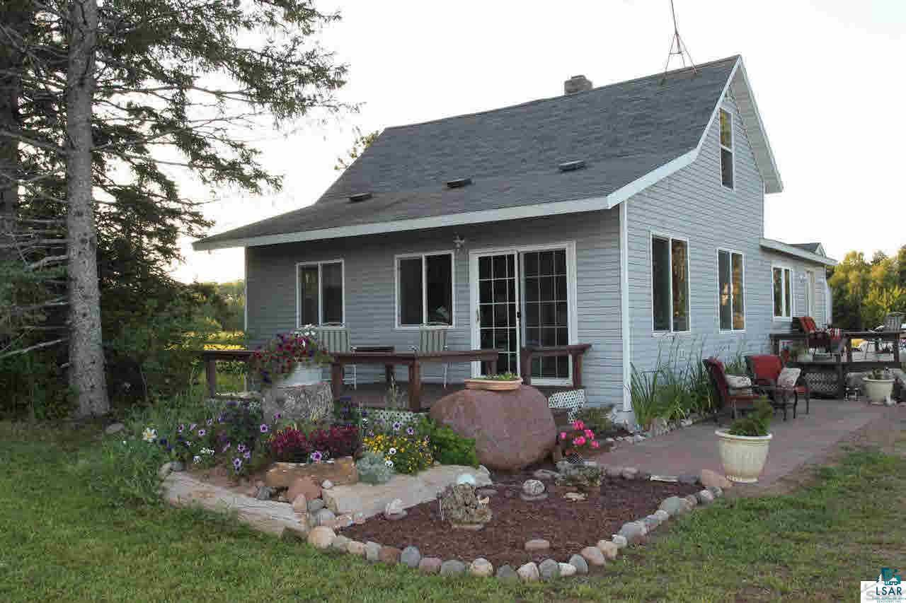 Beautiful country setting outside of Washburn with a Lake Superior and Valley View. Apple trees and open areas for a hobby farm or gardens. 3 bedrooms, 2 bath, updated kitchen, master bedroom and bath. Additional land available. This home is currently listed with 15 acres.
