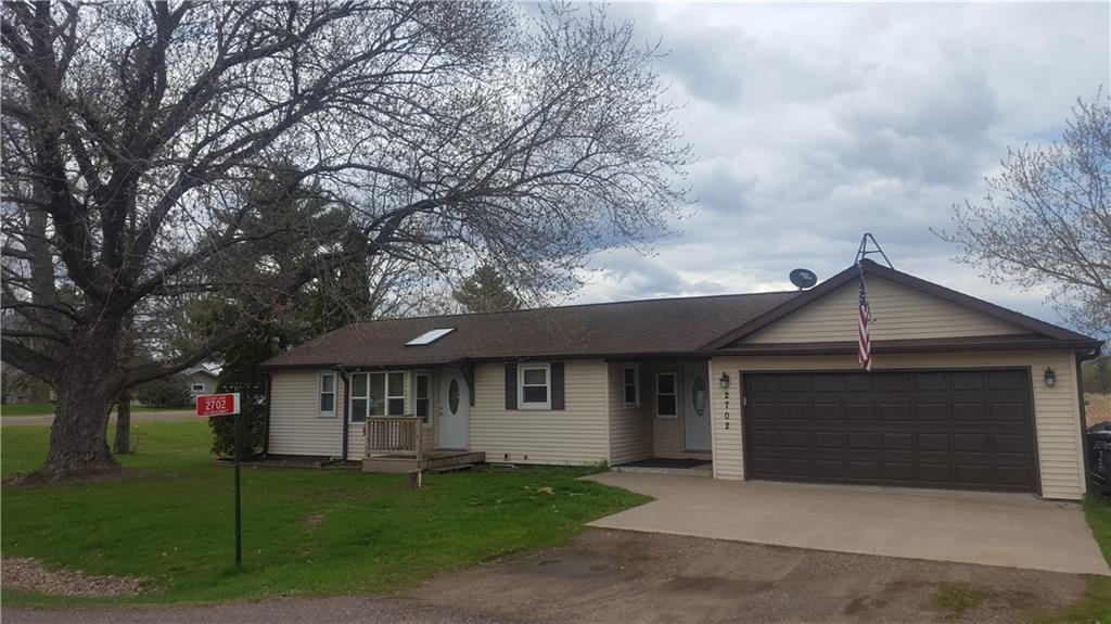 Well maintained 2 bedroom home close to Red Cedar Lake, snowmobile and ATV trails. Property features include- Hickory kitchen cabinets, 6 panel doors, Newer septic, flooring, furnace, Air Conditioner. Over sized 2 car garage, Big deck overlooking back yard. Full basement for storage. Priced to sell!!!