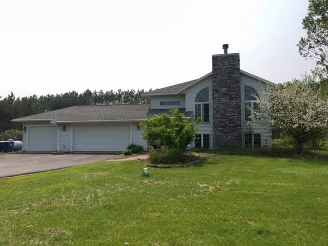 Located just a few minutes North of Wausau in the Village of Maine, offers Wisconsin River access across the street to enjoy great fishing and boating. 4Bedrooms with 3 full bathrooms.  Huge master bedroom bathroom suite features a whirlpool tub and walk-in shower!  Large open concept living on the main level.  Vaulted ceilings with custom kitchen overlooking the dining room and living room with fireplace and floor to ceiling windows.  Huge family room to enjoy entertaining and room for the kids to play.,Lower level as in-floor heating to keep it cozy and warm in the winter. During the summer you will enjoy an awesome large 2-tier deck overlooking a large private back yard.  This home is a must see!