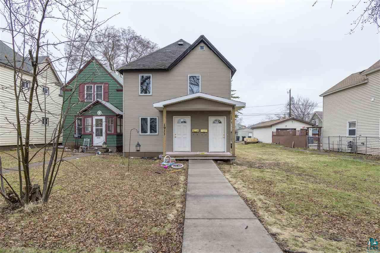 This home has limitless potential!  First floor is 725 unfinished square feet. Upper level is finished with 2 bedrooms - 1 bath, kitchen and livingroom.  Finish the main level to over double the finished square footage.