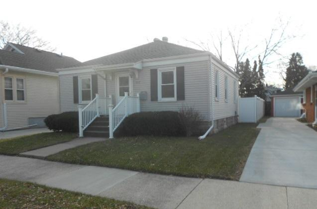 2 Bedroom home with newer windows, siding, exterior doors, driveway, furnace, water heater, roof, glass block windows in basement, big fenced in yard. Within 10 minutes-shopping, restaurants, McDonald's, Aldi, Arby's, Subway, Piggly Wiggly's, Dollar Tree and more. 15 blocks straight shot to the lakefront. Easy access to Milwaukee area. If you have a FHA, VA, or WHEDA loan, no problem. Room sizes are approximate. Must see.