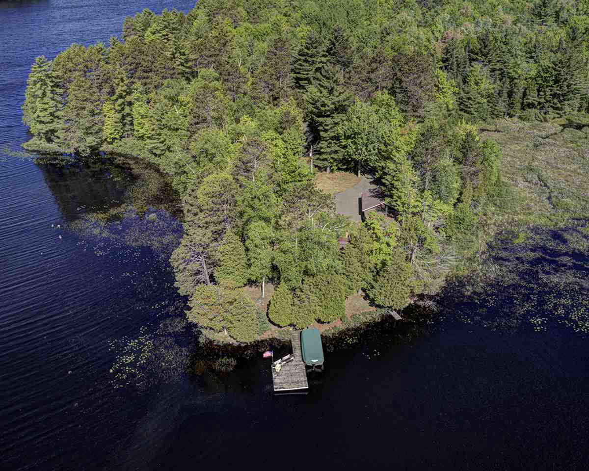 This one of a kind property on Thunder Lake on the  Rhinelander Chain of Lakes has panoramic views of the water from every room in the house. The beautiful peninsula of land has 586 feet of level frontage, southern exposure and a charming half log sided home that sits just 35 feet from the shoreline. There are 3 bedrooms, 2 baths, main level laundry, a 2 car garage with attached heated workshop. This unique property offers an abundance of wild life including deer, loons, nesting geese, otters and tons of birds. Thunder Lake is known for exceptional fishing. There is an adjoining lot also available