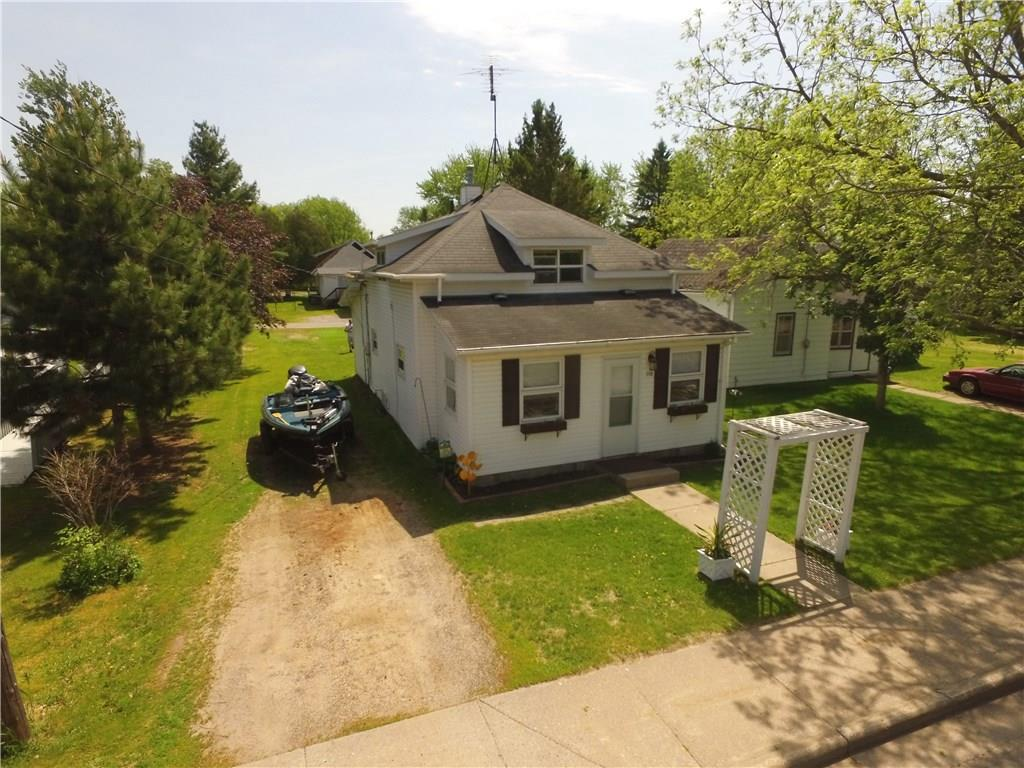 Awesome starter home in the Village of Turtle Lake.  Many updates including furnace, kitchen, living room, bathroom, and some flooring and windows.  Ideal location that is close to school, close to parks, close to downtown, and close to the town hall and library.    Large backyard and room for a future garage with great neighbors and a quiet part of town.   Hard to find this much at this price point in today?s market.