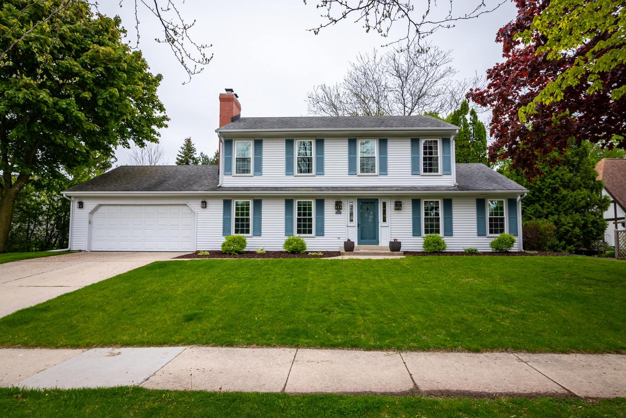 Looking for a beautiful home that is move in ready...This is it, Welcome Home! Bright & spacious well maintained 3 bedroom, 2.5 bath Grafton Colonial.Convenient 1st floor laundry, eat in kitchen, some HWF's & generous sized rms. Home offers a formal living rm & dining rm. Family rm offers a natural fireplace which has been converted to gas. Upstairs you will find the Master suite with walk-in closet & suite bathroom along with 2 more bedrooms & full bathroom.  Finished lower level rec room.. Improvements include in last 10 years: windows, roof, gutters, downspouts, furnace, air conditioning, water heater, vanity in baths, radon mitigation system, fence, garage door, carpeting, ceiling lights, water softener.  Great private fence in backyard with concrete patio & all refreshed landscaping.