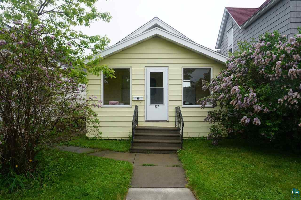 Well maintained 2 bedroom, 1 bath home in a great location in Superior.  Has a full basement with laundry area and room to finish off for more living space! The enclosed front and back porches are great to relax on after a long day.  Close commute to Duluth and surrounding areas.