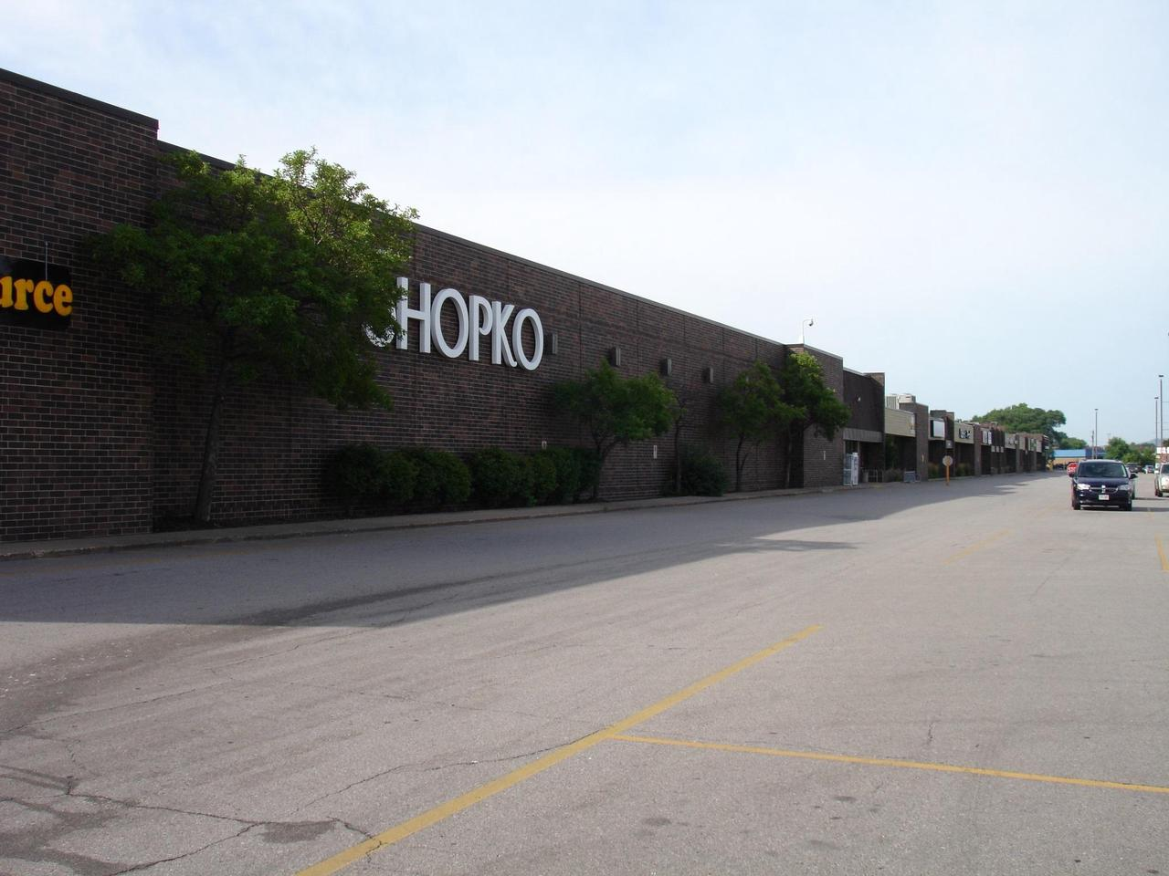 REGIONAL SHOPPING CENTER WITH SHOPKO DEPARTMENT STORE AS ANCHOR AND SEVERAL VACANT OPPORTUNITIES FROM 800 FT TO 16000. EASY ACCESS FROM I-90 HIGH VISIBILITY AND HIGH TRAFFIC COUNT CALL FOR AVAILABLE SPACE AND RENT INFO.