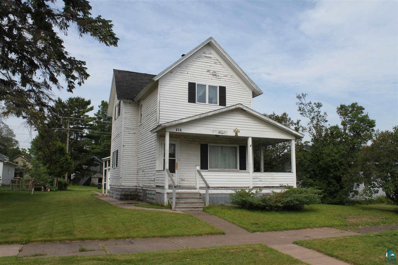 Older home with lots of character and charm.  Majority of home has hardwood floors and many windows have been updated.  Newer two car garage.