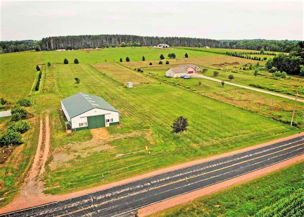 "Beautiful 3.6 acre building site with newer morton 42x72 shop and office, superior mound system, and drilled well. Build your dream home and store your toys, horses, or business! Office features tile and brazilian cherry floors, oak kitchenette, and 8"" thick concrete floors pre-plumbed to add in-floor heat. 3/4 bath with shower. Huge storage side on one end of the building for horses or storage with boxstalls and loft and a 30x30 insulated shop with 220 wiring and a 200 amp service.,Shop side has 11x16 automatic overhead door, and 11-6 insulated ceilings, insulated walls, in floor heat piping already run for a future boiler, and full width floor drains. Gas and water lines have been run to the rear of the lot for a future building site. Attached map of property included. Zoned Rural Residential. Welcome to the country! This address was formally known as 2603 Lester Street, Weston."