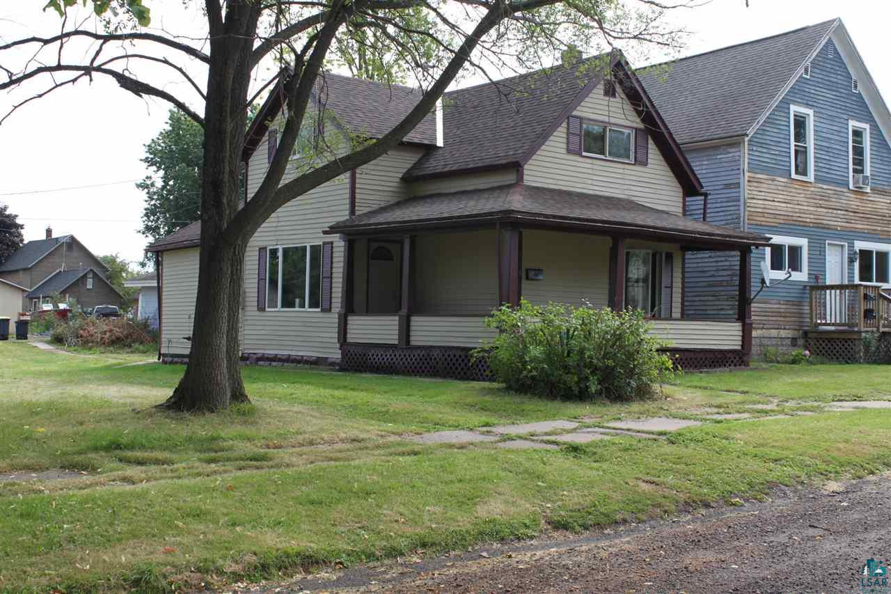 Perfect starter home or ideal rental for investment.  Large lot and 2 car detached garage.