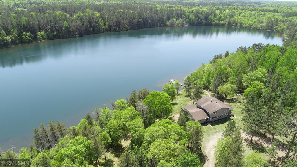 Solid 4 Season Cabin on Peaceful & Private Thatcher lake, 500+ft of shoreline  with no public access! Terrific clear swimming water & good fishing. Extensive network of ATV/Snowmobile trails right around the corner! Lots of Public land for hunting nearby.  Large 80x32 Pole shed & over sized 2 Car Garage! Large deck, screened porch, 4 season porch/sun room. Near many other Premium lakes in the Webb Lake area only a short drive away!