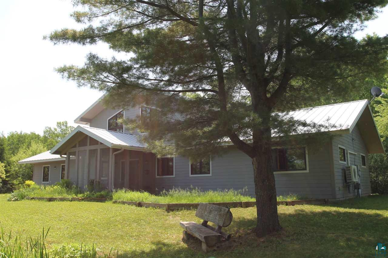 Ashland green built home!  Certified energy efficient home by Focus On Energy.  3 bedrooms, 3 bath, attached 2 car garage on a dead end road with total privacy.  Walking distance to the schools and hospital.  Master bedroom with master bath.  Upper level loft that can be used as a bedroom or family room.  Country living in the city!