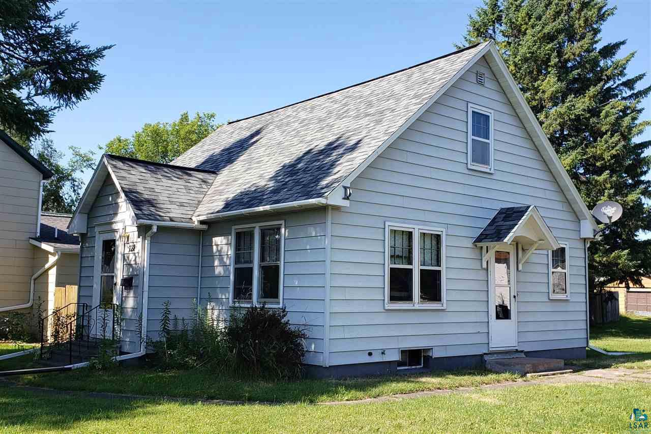 Priced to sell. Well maintained bungalow style house. 2 bedroom, 1 bath, with a decent yard. Metal non-maintenance siding & newer roof/gutters. Beautiful hardwood floors & arched doorways. Nice attic space that has potential!