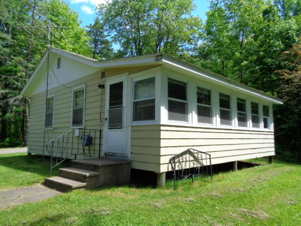 255.97 feet of frontage on 1.40 acres! Small charming cottage on Nelson Lake with large open and wooded lot. Nelson Lake which is a 2716 acre lake located in Sawyer County in Upper Wisconsin, just minutes from downtown Hayward. The lake has a maximum depth of 33 feet. Fish include Panfish, Largemouth Bass, Smallmouth Bass, Northern Pike and Walleye. Electrical meter needs to be installed.