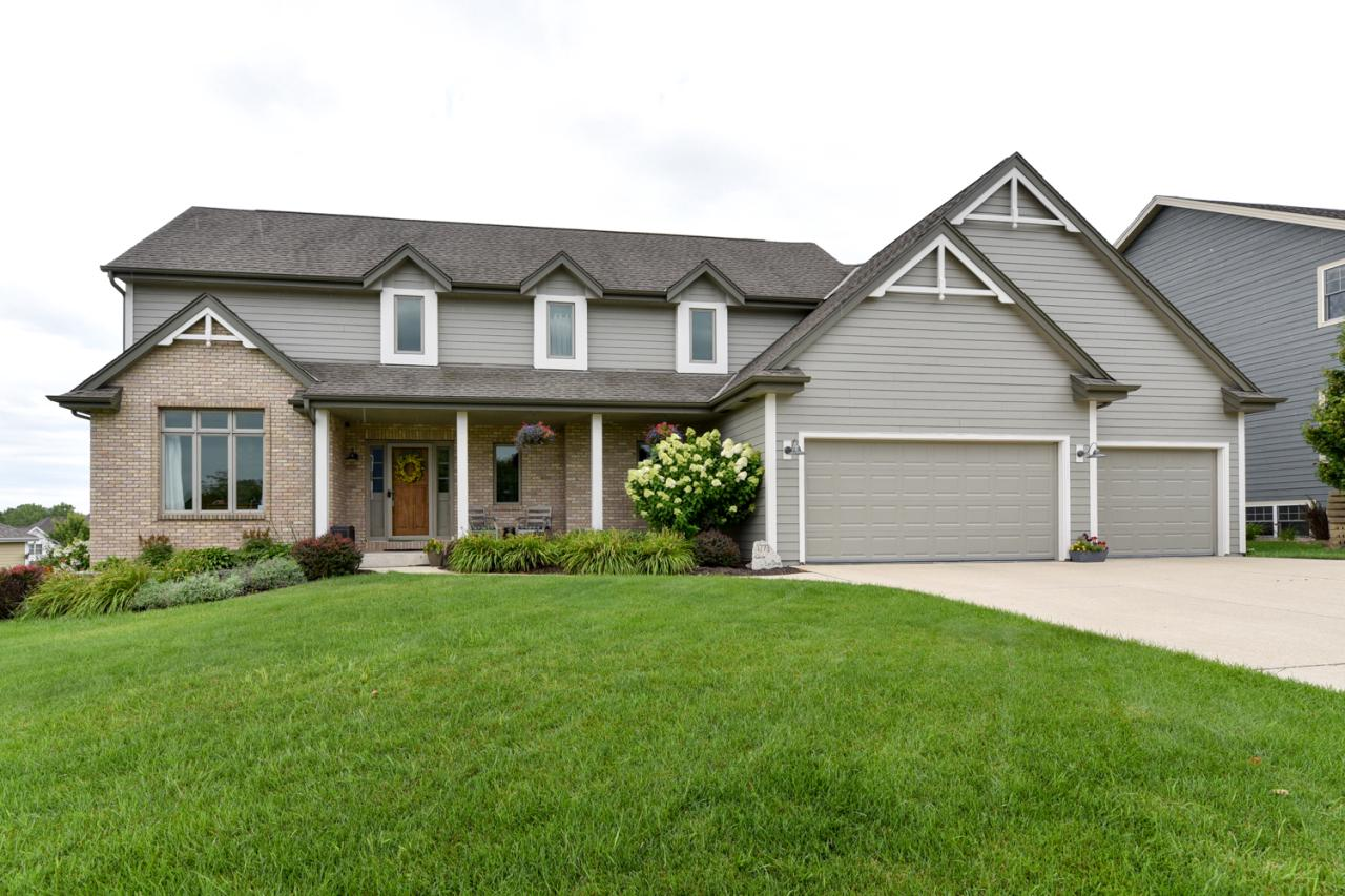 Striking Colonial in desirable Blackhawk Valley Subdivision! Masterful design & modern luxury are uniquely embodied in this 4BR, 3.5BA. With generous living space & stylish finishes, you'll enjoy a perfect setting for relaxing & entertaining. Beautiful HWFs & an abundance of natural light flow thruout the home's airy layout. The updated gourmet KIT boasts granite countertops, SS appls w/built-ins & snack bar. 1st floor master w/BA and WIC. 2 large BRs overlooking GR w/skylights. Updated full BR, office/den, full BA and open rec room w/full walk-out LL. State-of-the-art central vacuum system and smart house integration (thermostat, GA, several light switches and 2 zone smart sprinkler system). Don't miss your opportunity to own this amazing home in one of Grafton's best neighborhoods!
