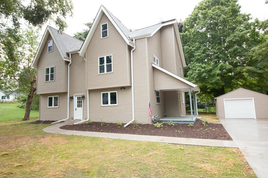 This move-in ready 3-bedroom, 2 bath located on a quiet, dead-end street. The large living room boasts lots of natural light. The open concept kitchen with new SS Appliances and granite countertop and island. Everything is new in this house including appliances , air conditioner , Furnace , Bathrooms, Water Heater. Whole house is high quality Bamboo flooring. This is a total teardown remodeled house with new siding , roof and energy efficient windows. All rooms have ceiling fans. L:arge Shed by the Garage for storage.