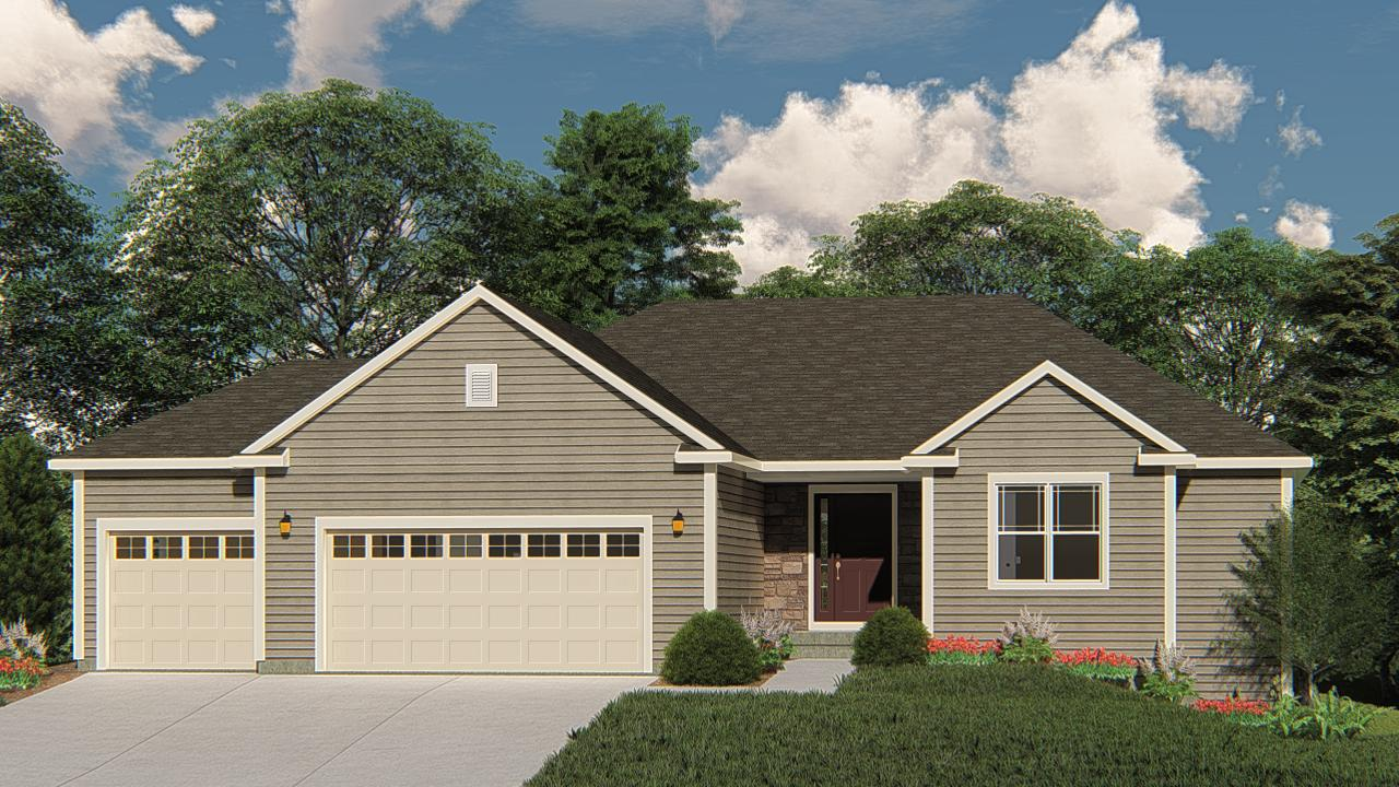 NEW Construction- Ready November 2019! Located in the Borlen Farms community in Harford -this beautiful Caspian model has all the amenities you are looking for! Kitchen includes Granite Countertops, Workspace Island with overhang for seating, and is open to Family Room which has corner Gas FP. Master Suite features Box Tray Ceiling, Large Walk-In- Closet, and Double Bowl Vanity. Look-out exposure in the lower level w/ egress windows and full bath rough-in for future expanded living space. Don't miss out on the opportunity to see everything this new home has to offer!