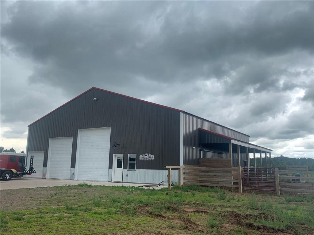 """For all the """"horse lovers"""" out there, here's your perfect spot!  This 15.33 acre parcel has a 50x50 metal building with lean-to , complete with three horse stalls, tack room, bathroom, and 30x50 storage area with extra large overhead doors, perfect for additional storage.  The building was constructed in 2017, along with a new well and septic. Property also includes 2 automatic waterers, hot/cold outside spigots, a 100x150 riding area, a 30x40 covered hay storage area, and is entirely fenced with high tensile electric wire fencing. Great spot to build your new home along side your hobby/horse farm."""