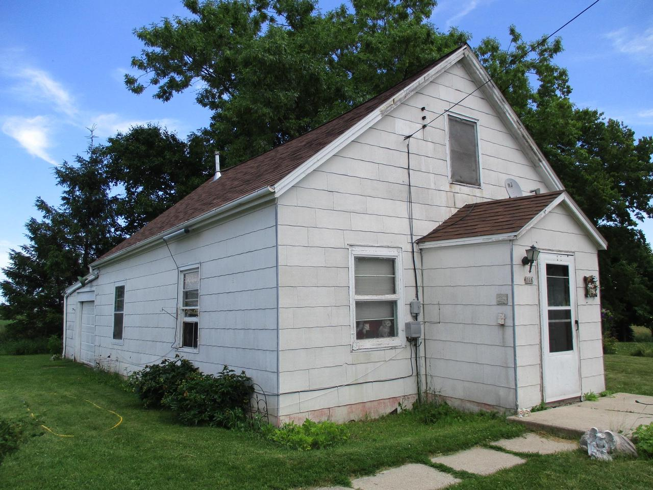 This 1 BR home with main floor laundry is a fixer upper so bring your tools and ideas. Would make a great rental property. There is no basement. Updated roof. 3-4 yr old propane furnace.