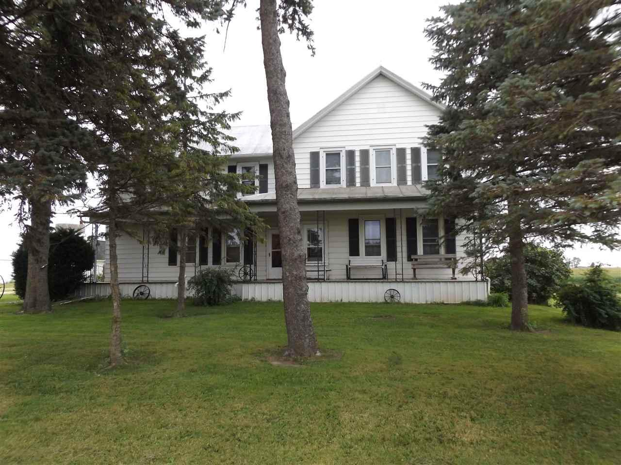 Great opportunity to own a hobby farm!  Great Town of Brillion property with 8.06 acres of partial woods & open land.  Featuring a barn, pole shed & creek. Spacious 2 story home, 2796 sq ft., with a large eat in kitchen, living room, family room, 1st floor bdrm, office(could be a bdrm) & full bath. Upstairs offers a half bath & 4/5 more bedrooms, great potential upstairs with a little tlc.