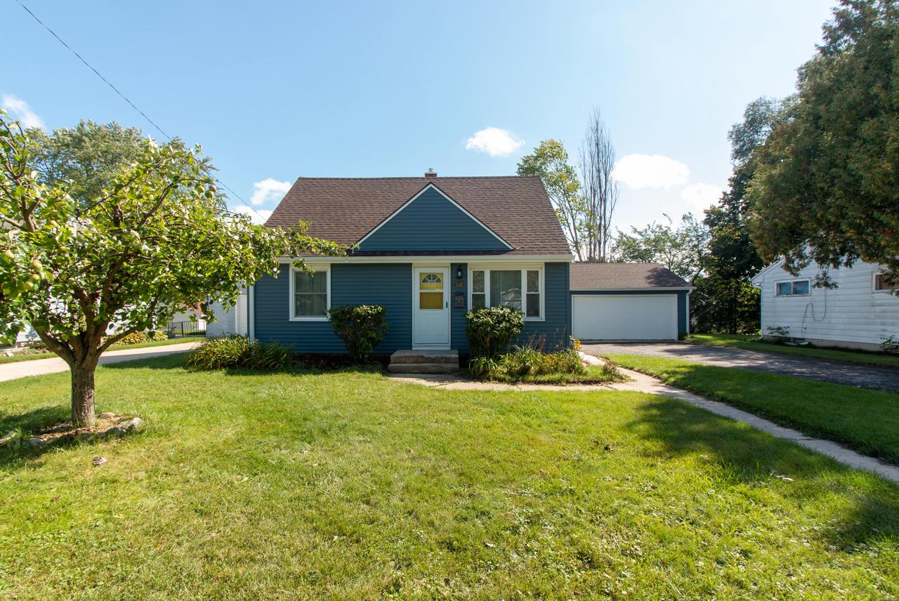 Updated Cape Cod in the heart of Grafton. Enjoy the best combination of great schools, neighbors and safe streets in Ozaukee County per seller. This 4 Bedroom 1.5 Bath family-ready home has built in peace of mind with its many updates including newer furnace, water heater, siding, flooring, updated bathrooms, and more. Two bedrooms share a Jack and Jill style bath for easy access. Basement rec room is framed and wired ready for your finishing ideas (per seller).  1 year home warranty is an added bonus.  Room sizes estimated