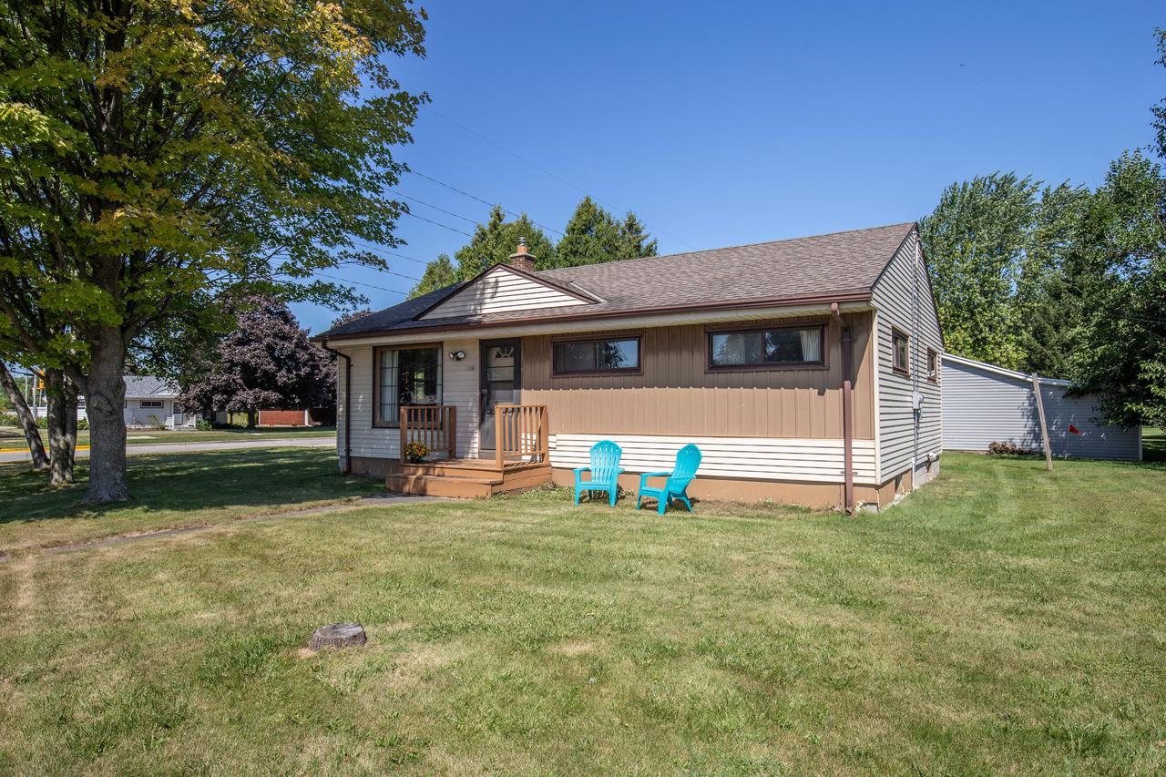 Own for less than renting. Cozy ranch home with an extra large yard, Newer Roof and Furnace. Cabinets in eat in kitchen are 5 years old. Refrigerator and range less than 3 years old. Newer carpet in living room and hallways. Wood floors in all 3 bedrooms. small deck off back door. Storage shed next to driveway. Come an make this sweet house your home. The yard possibilities are endless.