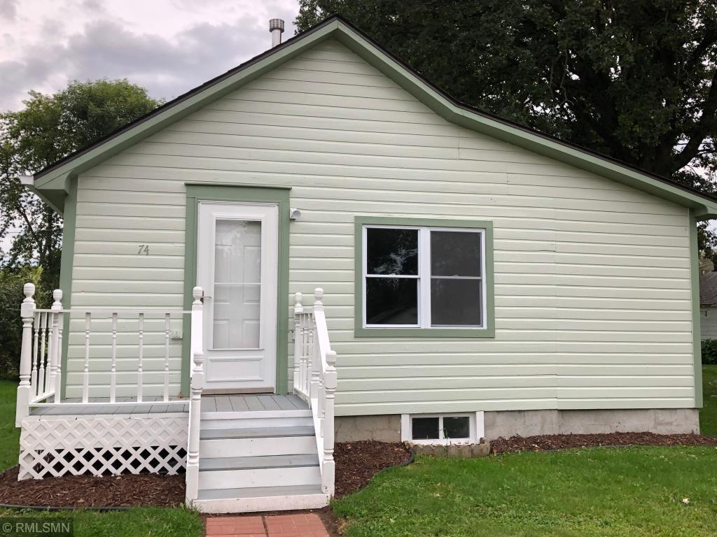This quaint cottage like home in the town of Milltown has 2 Bedrooms, 2 baths, and a 1 car garage.  The laundry is on the main level.  This home has been remodeled with all new appliances, roof, electric, windowns and flooring.  Relax and enjoy your small private deck in the back.  The yard is very nice for your garden and flowers. It is walking distance to town and close for you to enjoy many lakes.  This home is less that renting so come and see this home for you to enjoy!