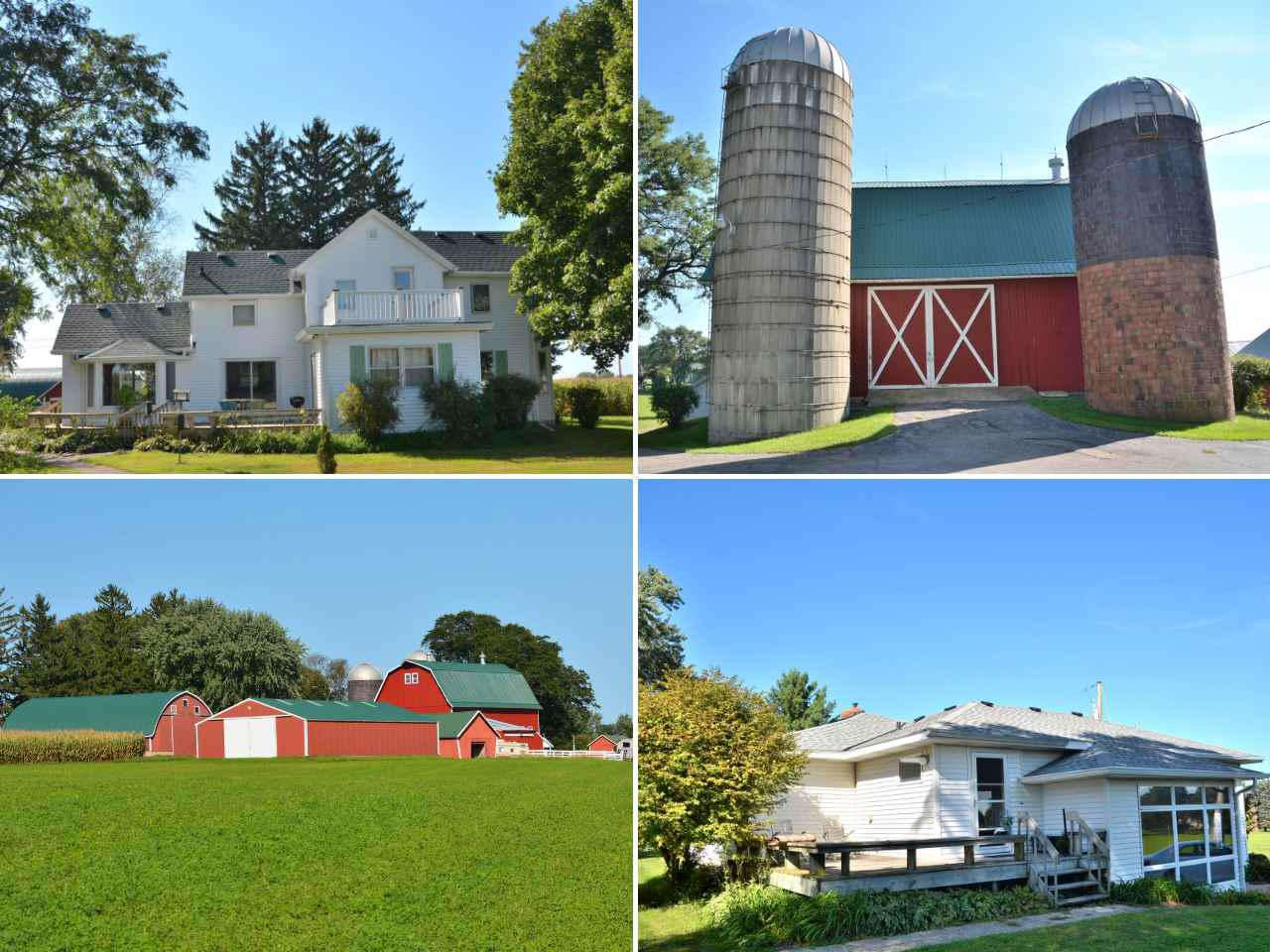 5 acre farmette with 2 homes and 10 outbuildings between Windsor and Deforest.    One home built in 1900 and the other built in 1951.  Both homes are well cared for and would make great home, business or investment.  Are you looking for storage space? A place to keep your horses? A barn for weddings?  These amazing outbuildings and barns are well maintained and have metal roofs. Lots of exciting development surrounding this property from new neighborhoods to ball fields to bike trails. This farm has been in the family for over 100 years and now is your chance to own 5 acres with easy access to Madison and Sun Prairie.
