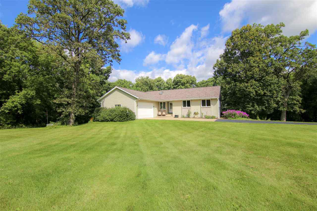 WOW! Beautiful 5 acre farmette just 30 mins from Madison with so much to offer. Wooded land as well as open area makes this property stand out. Home with double deck sprawls out over stunning views of mature trees. Call today for a private showing! House is also available with 35.1 acres, MLS#1867143