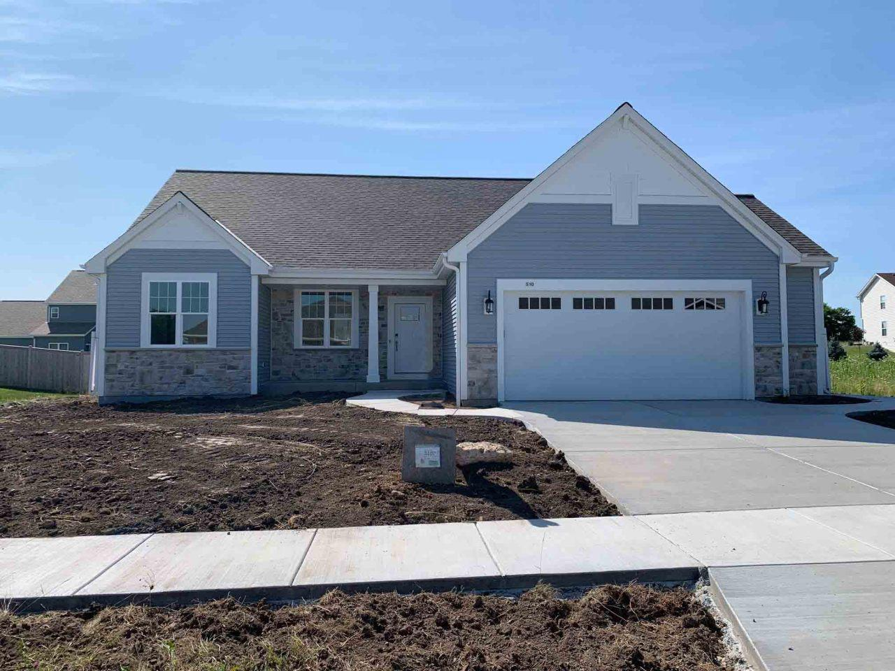 NEW CONSTRUCTION by Stepping Stone Homes.  $2500 buyer closing cost credit OR credit towards a patio/deck for an accepted offer by 10/31! This is the Avery Model located in Western Hills subdivision and it offers top grade materials and construction.  From the 2x6 exterior framing to the quartz and marble counter tops, soft close dovetail cabinetry, upgraded flooring and even an active radon system.  You'll have no problem fitting your truck in the garage with the 8 foot garage doors.  You can even use your phone to make sure the garage door is closed. This smart home has it all. Integrated lights, door locks, smart thermostat, video doorbell and upgraded appliances you can control from your mobile device!  Look inside your refrigerator while you're at the store!  Concrete driveway and law