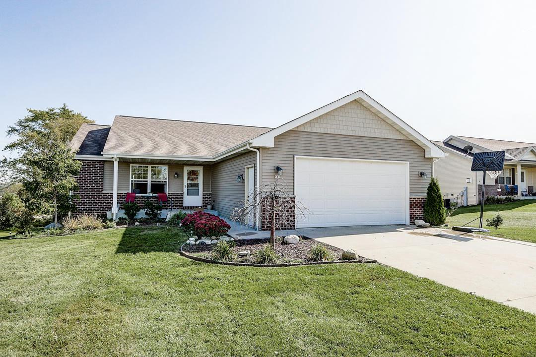 There is plenty of room inside this newer four bedroom Kewaskum raised ranch. Located in the village's newest subdivision, Nature Haven Estates at the southern village limits a block away from USH 45 you'll enjoy village amenities while country living is just a stone's throw away. Inside enjoy a semi open concept kitchen open to the living and dining rooms. A mudroom with main-floor laundry greets you when entering from the two-car garage. Two bedrooms, including the master with ensuite are also located on the main level. The finished lower level has a walk-out to the huge rear yard as well as two bedrooms, full bathroom and youth gaming room. A large, unfinished space, currently used as an office and storage is ready for your ideas.