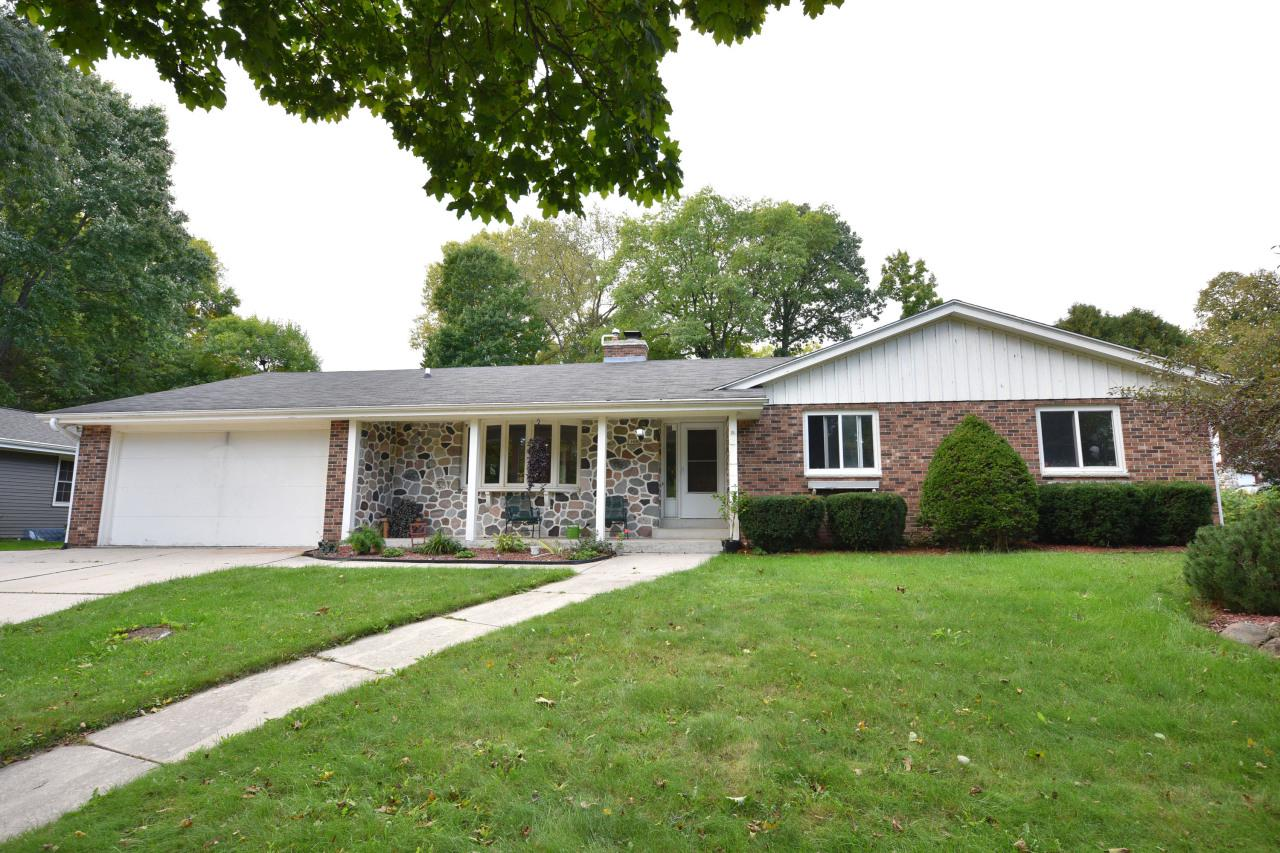 Great spacious three bedroom ranch in a great location with hard to find two full baths on the main floor. This home has over 1,750 square feet on the first floor with a bright airy sun room. Vaulted ceilings and an awesome natural stone fireplace. Also, has a hard to find first floor laundry room. Huge finished basement with brand new carpeting, adds so much living space. Just one block from Lime Kiln park and the Milwaukee River, and just a few blocks from shopping and downtown Grafton. Home prices have been soaring. Do not miss out on seeing this rare affordable home in Grafton.