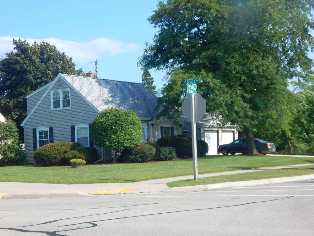 4 BRs, 1 & 1/2 Bath Cape Cod, Kitchen,  Dining Room w/French Doors to Deck, Carpeted Living Room,  HWFs throughout,  Full Basement, Central Air, 100 AMP Electrical and a 2 & 1/2 Car Garage.  Plenty of sun light flows throughout the home and brightens the day, professionally land- scaped.  Exterior is vinyl, newer insulated double hung windows.  Roof is newer and the home is low maintenance.  Make an offer.
