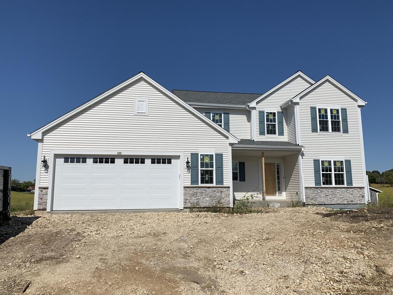 NEW CONSTRUCTION by Stepping Stone homes. $2500 buyer closing cost credit OR credit towards a patio/deck for an accepted offer by 10/31! The Camden offers lots of space in an anything but traditional two story home. Spacious MBR w/private MBA & HUGE walk in closet. Open concept kitchen/living room w/fireplace and patio door off dining area. 2x6 exterior framing and upgrades like soft close dovetail cabinetry, quartz/marble counter tops, double sinks in the bathrooms, upgraded flooring, 8 ft GA doors & more! Full sized windows in LL! This home comes equipped with Smart Home Technology, including integrated lighting, door locks, ecobee smart thermostat, video doorbell, Lift Master garage door, all of which you can control from your mobile device.  Smart home technology at it's best.