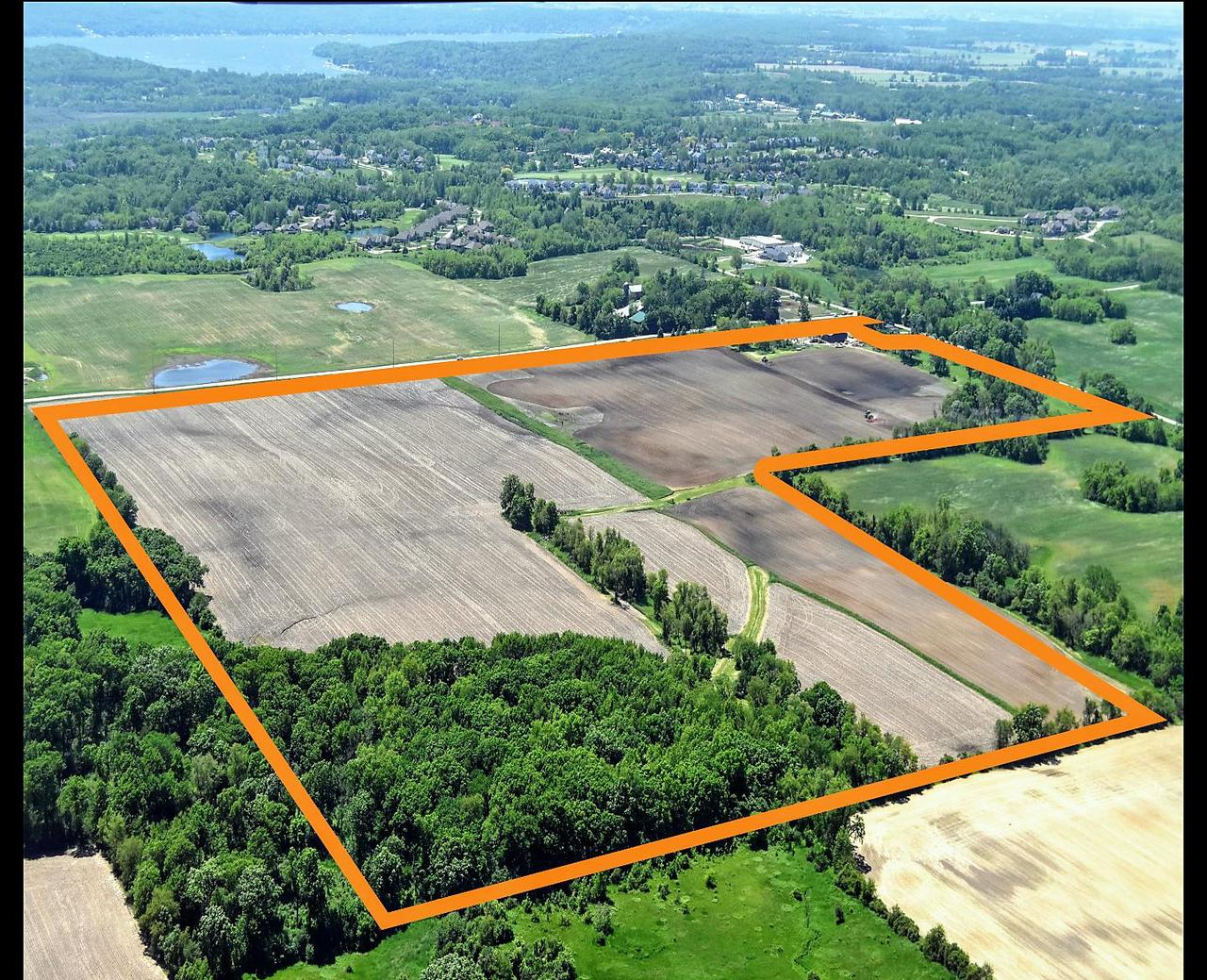 THIS PROPERTY HAS IT ALL!! 118+/- acre farm. 94+/- tillable acres (zoned A1) with drain tile throughout. 94+/- acres currently leased for 2019 crop season. 60x40 and 40x56 pole buildings, 4 bedroom house and buildings being sold AS IS CONDITION.  House needs some work and updates but very solid structure. Well maintained 8+/- wooded acres (zoned C2) with mowed trails. Property is full of wildlife and outdoor recreation, mowed pasture land and trails. Property is also being divided and sold as 3, 35+/- acre proposed buildable sites. MLS#'s 1644670, 1644671, 1644672. Located close to Lake Geneva, Delavan Lake, Lake Como and Geneva National! This property has been in the family for over 100 years. A MUST SEE!! Very easy to walk the property. Easy access to Interstate 43, Highways 12 and 50.
