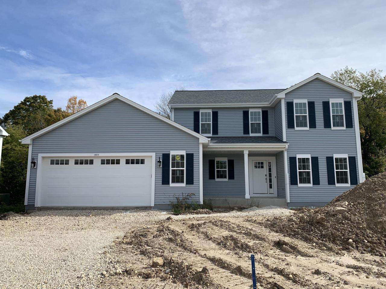 NEW CONSTRUCTION by Stepping Stone homes. The Camden offers lots of space in a traditional two story home....but this home is anything but traditional! You'll find 3 BRs up & a den/office option on the main floor. Spacious MBR w/private MBA & HUGE walk in closet. Open concept kitchen/living room w/gas fireplace and patio door off dining area. 2x6 exterior framing and amazing upgrades like soft close dovetail cabinetry, quartz and marble counter tops, double sinks in the bathrooms, upgraded flooring, 8 ft GA doors & more! This home comes equipped with Smart Home Technology, including integrated lighting, door locks, ecobee smart thermostat, video doorbell, Lift Master garage door. Smart home technology at it's best. $2500 buyer credit for A/O by 10/31/19