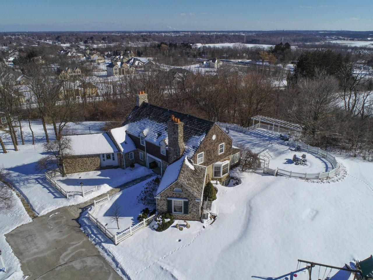 Epic estates like this come along only once in a lifetime! Do not deny yourself the satisfaction of owning one of the most unique & intriguing properties in Brookfield & maybe even all of SE WI! Nestled atop 9+ acres, you will enjoy privacy, sweeping vistas & wildlife! East Coast influence blends w/an English flare to create a harmonious place to call home. Outdoor amenities are resort-like & offer infinite possibilities! According to the Town of Brookfield there could be potential to have horses on the property. A guest house, a barn & a pool, OH MY! Low tax Town of Brookfield combined w/Elmbrook Schools, what a treat! The interior is host to 30's charm & character w/modern touches. Phenomenal location. Exceptionally epic. Don't let it slip away!