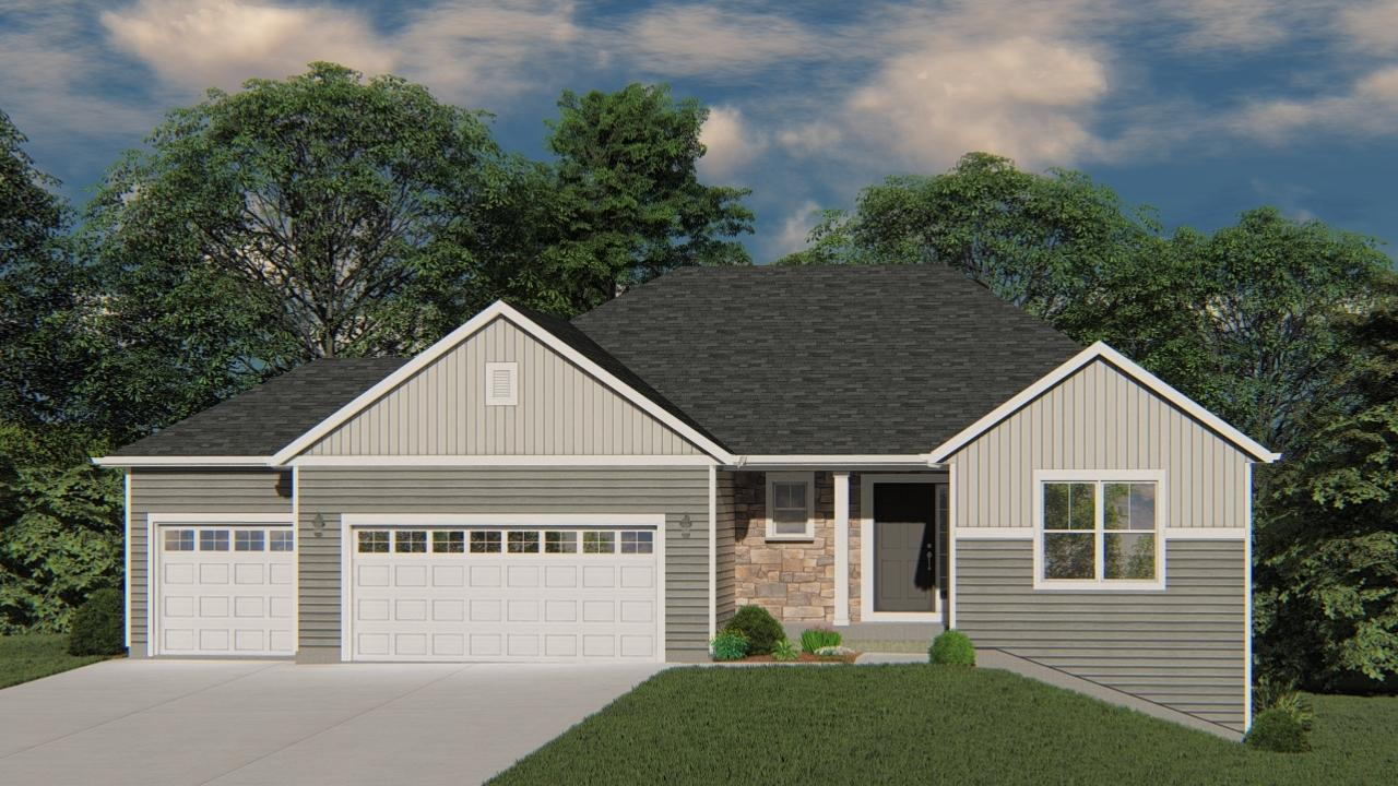 NEW Construction - Ready in February 2020! Our Wingra model is a 3 Bed, 2 BA, split ranch with open concept layout. The Kitchen boast granite countertops, maple cabinets and large island with overhang, great for entertaining and family time. The Great Room has corner gas fireplace with stone detail and box tray ceiling. Owner's Suite includes box tray ceiling, oversize WIC and double vanity. This home has partial exposure in the lower level w/ egress windows and full bath rough-in for future expanded living space. Don't miss out on the opportunity to see everything this new home has to offer!